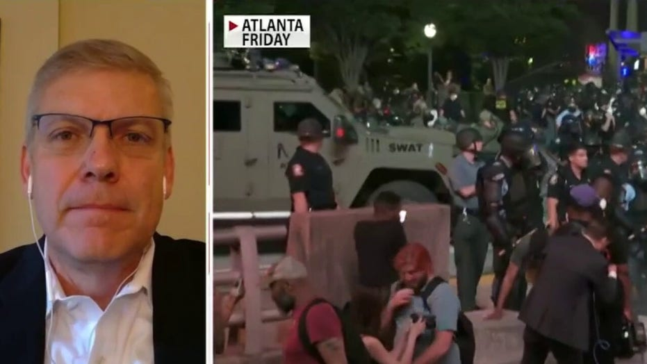 Rep. Loudermilk riots erupting throughout U.S. cities