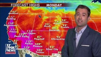 National forecast for Monday, September 7