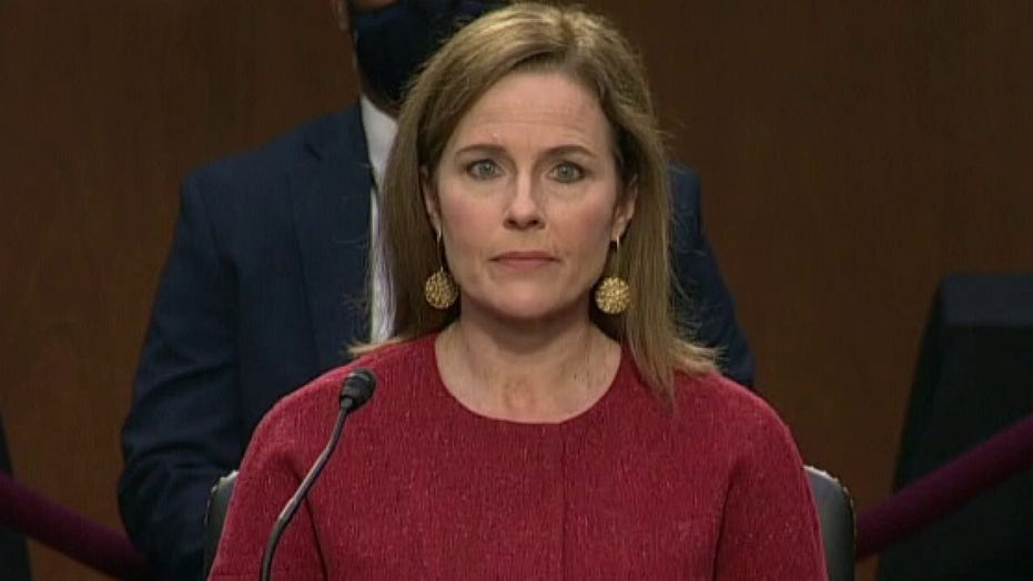 Amy Coney Barrett answers question on whether she'd be a 'female Scalia'