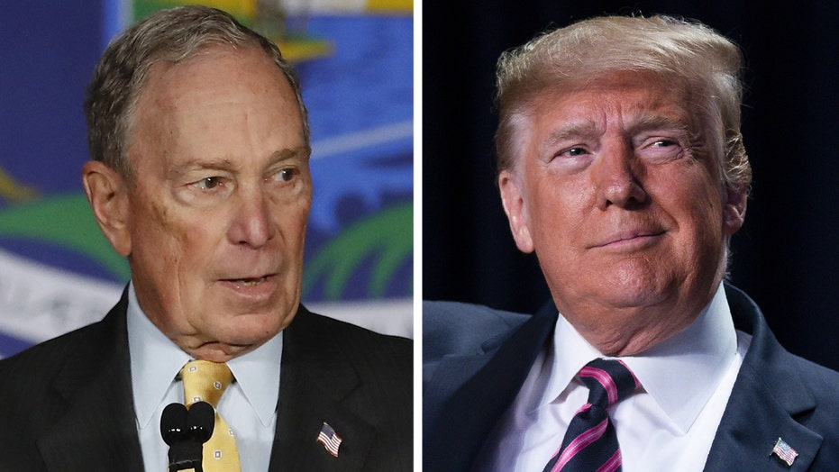 Trump hits Bloomberg over 'stop-and-frisk'
