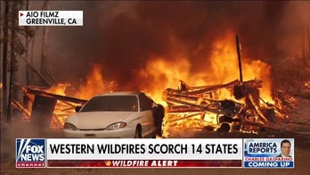 Firefighters prepare for sweltering weekend as wildfires scorch California, Oregon