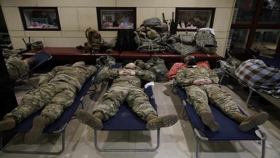 多于 100 National Guard members in DC test positive for coronavirus: 报告