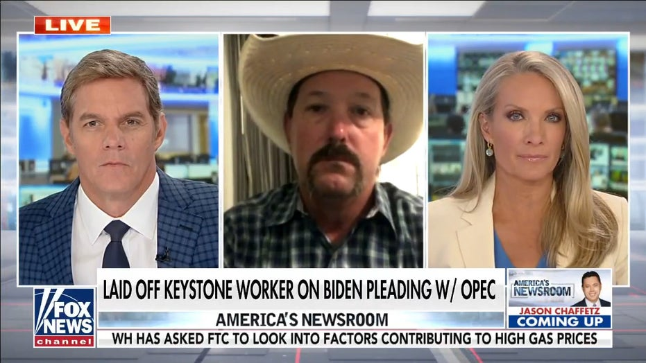 Ex-Keystone worker rips WH for pleading with OPEC: 'Something totally wrong' with Biden admin