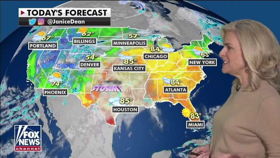 National weather forecast: Strong storms expected in central US