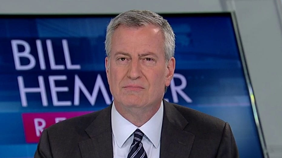 New York City Mayor Bill de Blasio on efforts to contain coronavirus, explains his support for Bernie Sanders