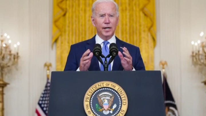 Biden calls for more IRS enforcement, rich to pay fair share in taxes
