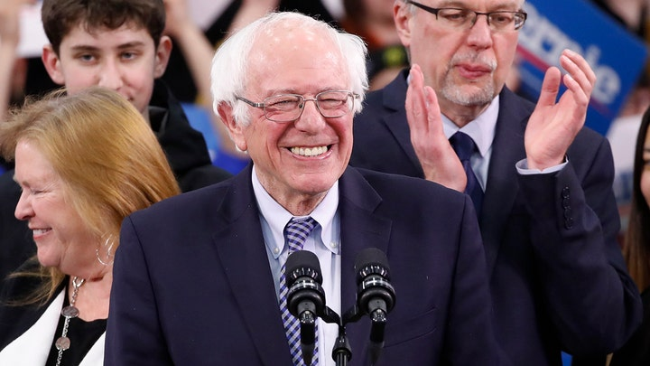 Sanders: This victory is the beginning of the end for Trump