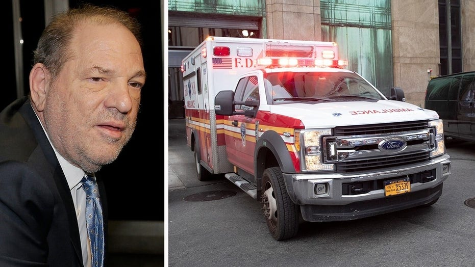 Weinstein hospitalized en route to Rikers after experiencing heart palpitations, high blood pressure