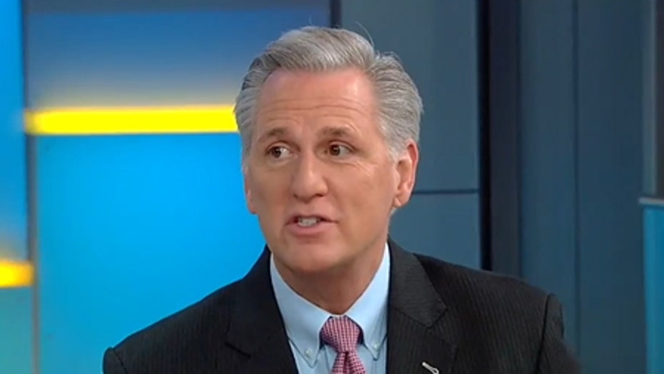 McCarthy: Democrats embrace socialism, they're just embarrassed of Bernie