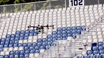 Company develops drone to clean stadiums in 3 hours