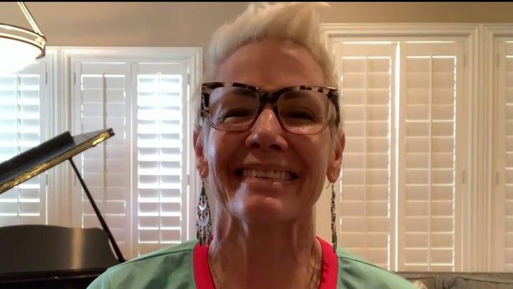 Former coronavirus patient says she feels fantastic