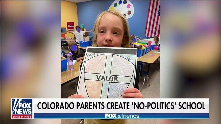 Colorado parents create 'no politics' school with focus on traditional studies, personaje