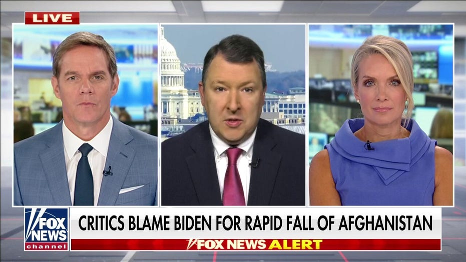 Thiessen blasts Biden's silence as Afghanistan fell to Taliban: 'How can he defend the indefensible?'