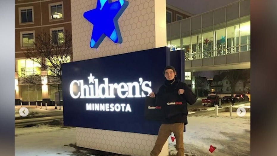 Student donates GameStop stock earnings to MN children's hospital: Money should be used 'for good'
