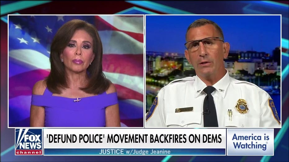 Charleston police chief 'very angry' with rise in crime in the United States