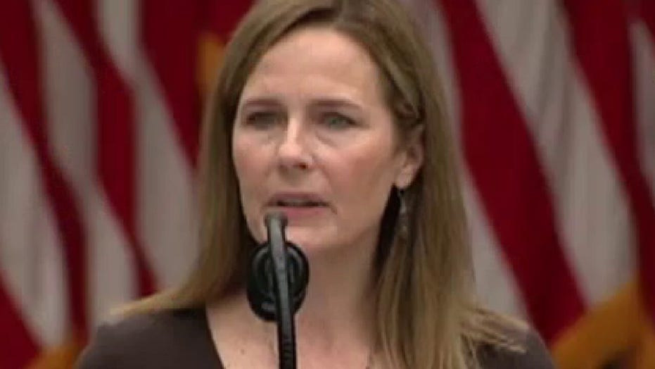 President Trump nominates Judge Amy Coney Barrett to Supreme Court