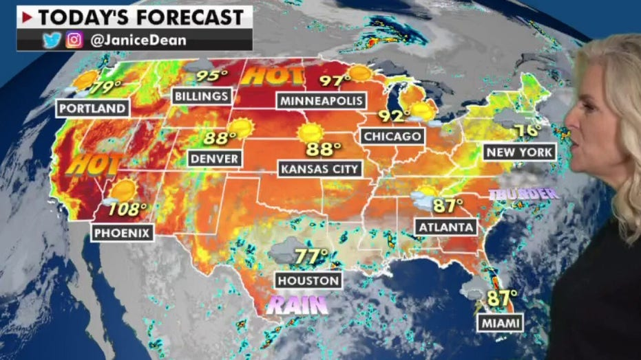 National weather forecast: Heat wave to challenge record temperatures
