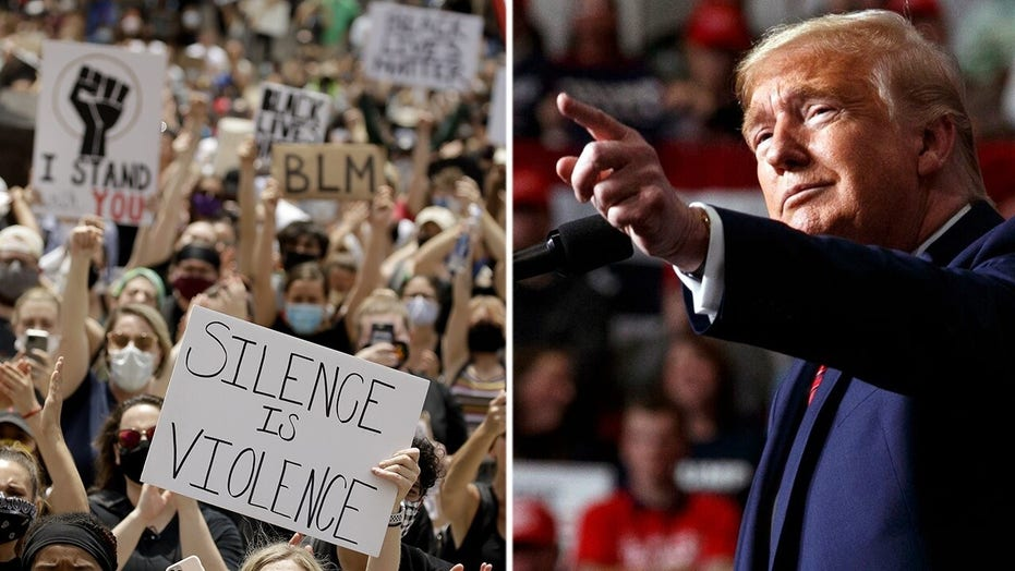Media slam Trump rally over COVID-19 concerns but not mass protests