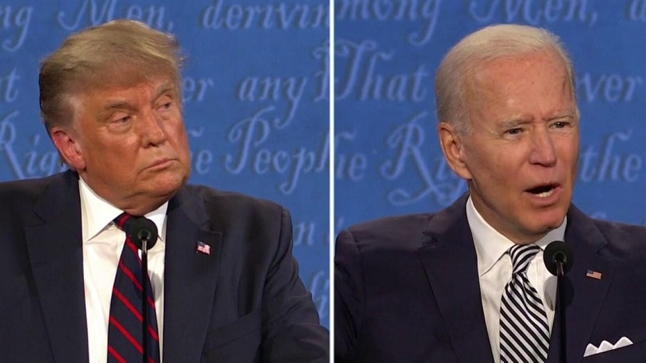 Live Updates First 2020 Presidential Debate Sees Trump Biden Spar Moderated By Chris Wallace Fox News