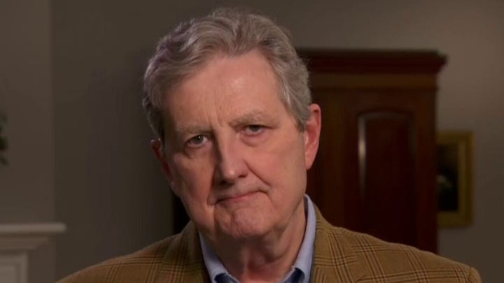 Sen. John Kennedy says WHO report 'closely tracks to Chinese propaganda'