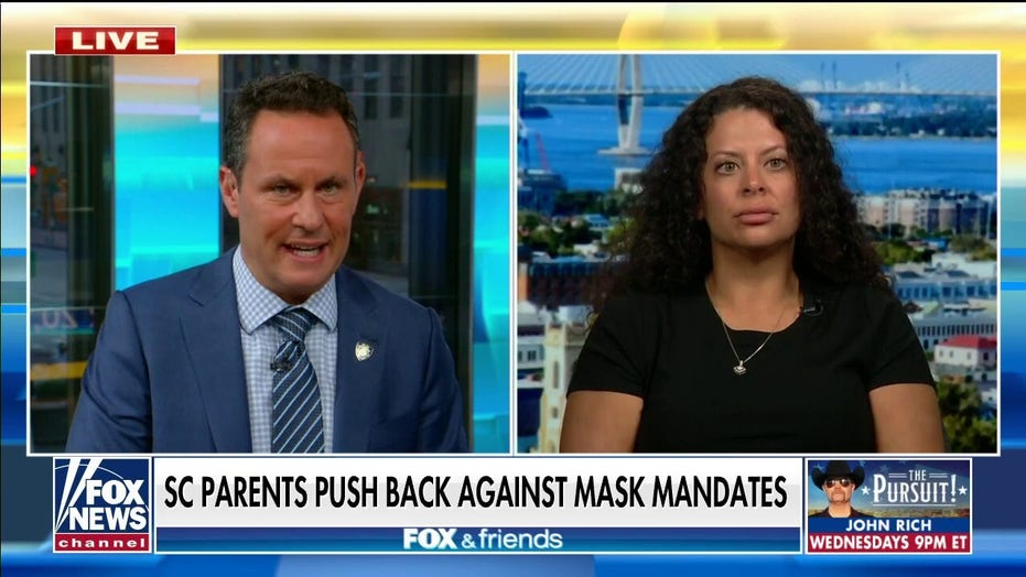 SC mother joins outraged parents pushing back against school mask mandate: 'This is wrong'