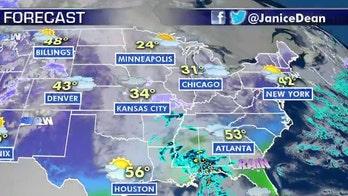 National forecast for Wednesday, January 29