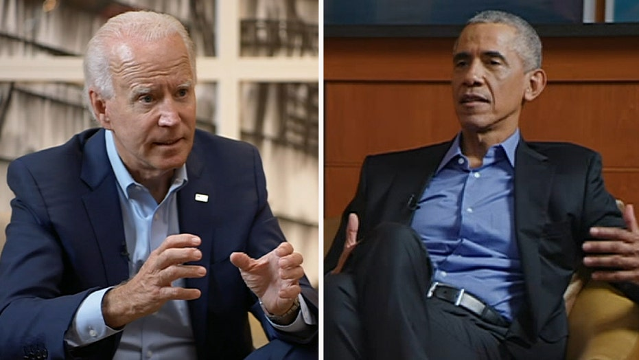 Biden and Obama discuss the Affordable Care Act