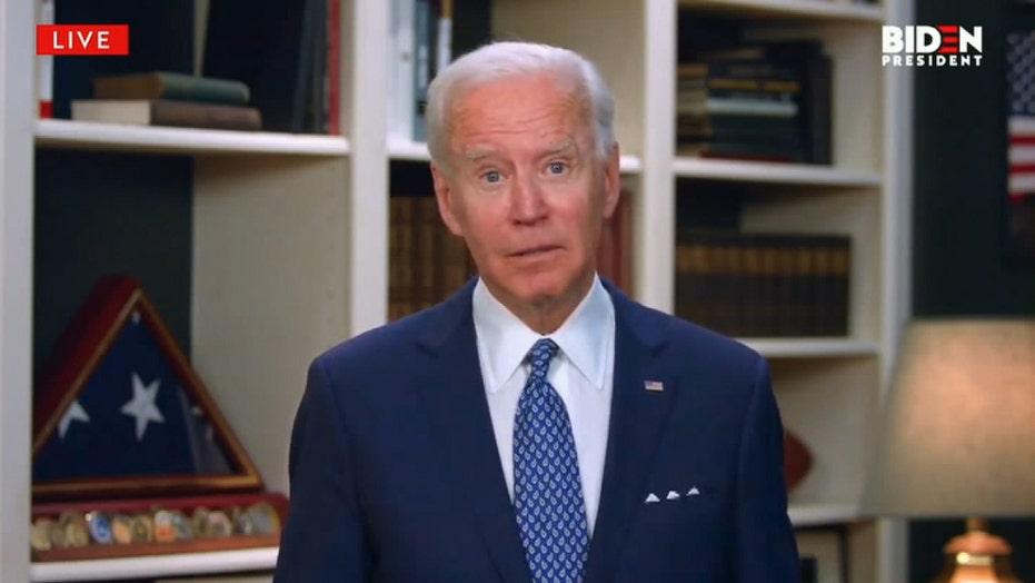 Joe Biden calls for police reform in wake of George Floyd's death