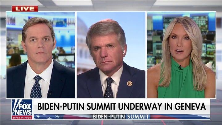 대표. Michael McCaul to President Biden: It's time to tell Putin 'enough is enough'