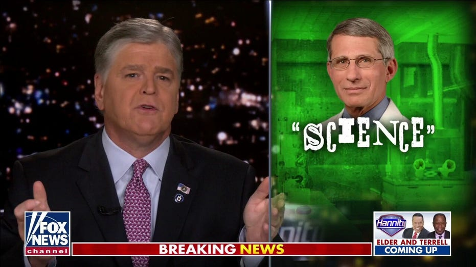 Sean Hannity: Why are Democrats, Dr. Fauci still obsessed with masks?