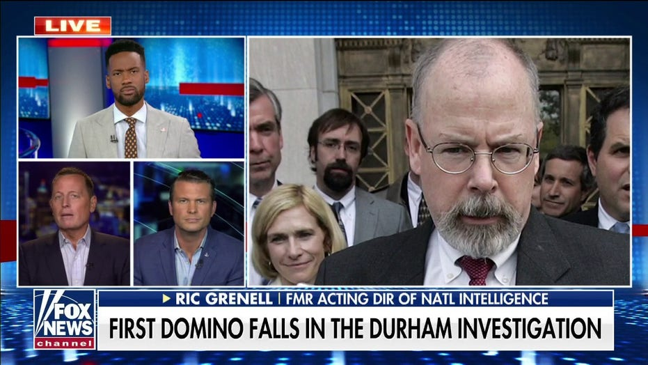 Ric Grenell: FBI wasn't 'duped' by Hillary-linked lawyer indicted in Durham probe