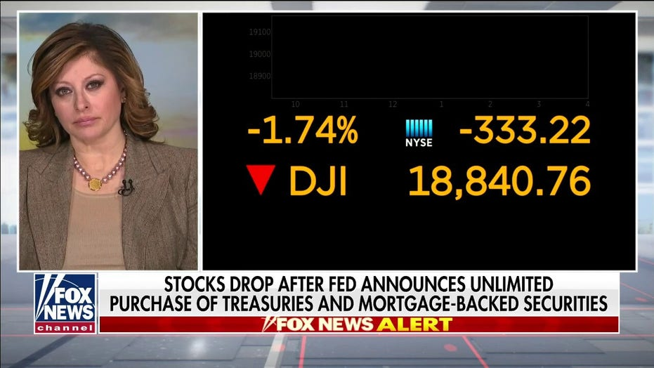 Maria Bartiromo: The Fed's 'extraordinary' activity that swung Dow 1000 points