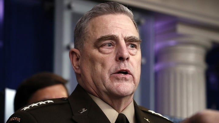 Milley faces growing calls to resign over call with China