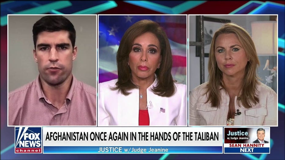 Army veteran blasts 'feckless, incompetent administration' for Afghan failure on 'Justice with Judge Jeanine'