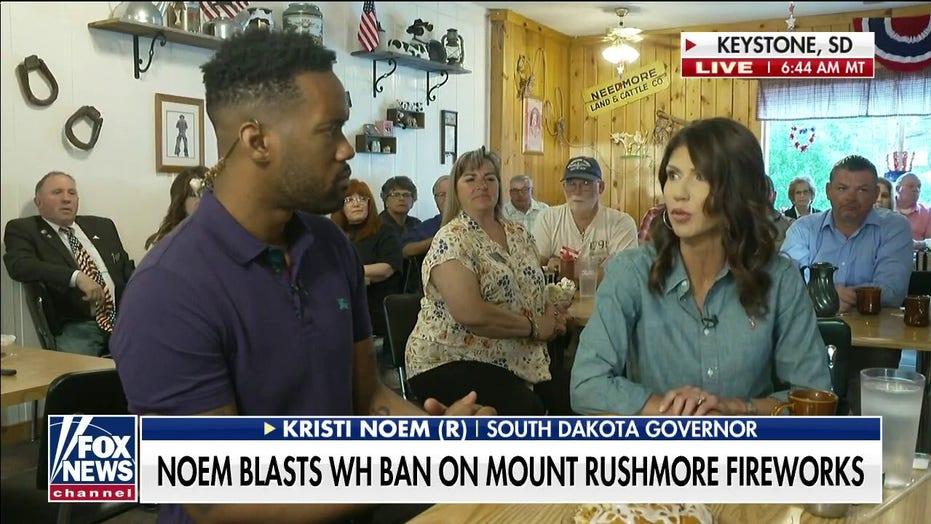 Gov. Noem slams Biden admin's 'political' move to deny Mount Rushmore fireworks permit