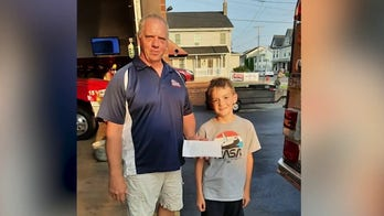 Nine-year-old raises money to help fire dept. buy a new truck