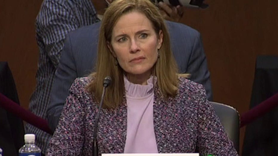 Amy Coney Barrett explains why she accepted Supreme Court nomination