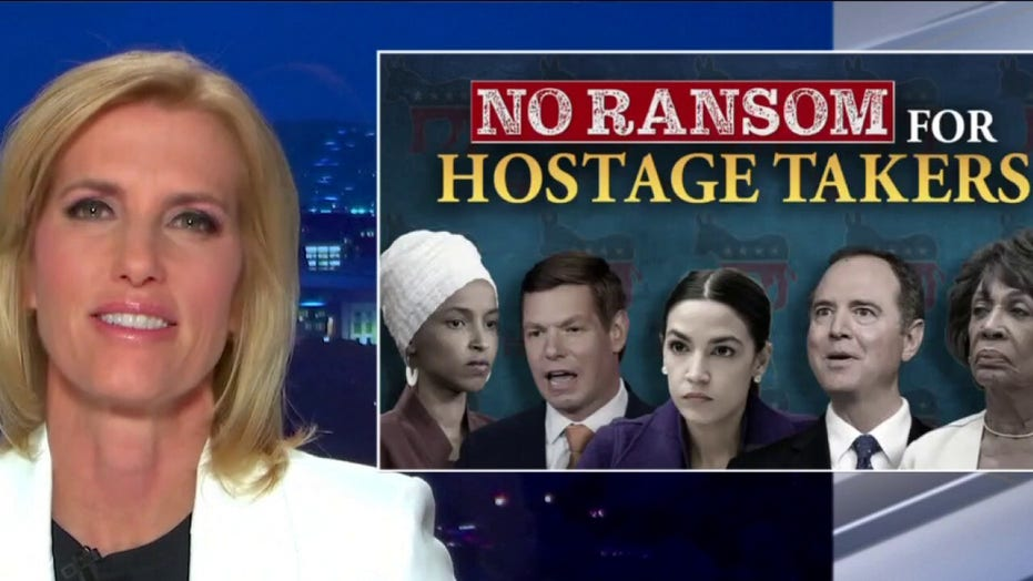 Ingraham vows 'no ransom for hostage takers' as Democrats seek to smear GOP as extremists