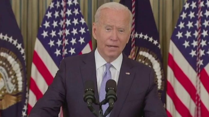 Biden selling $  1.2 infrastructure bill as 'all paid for'