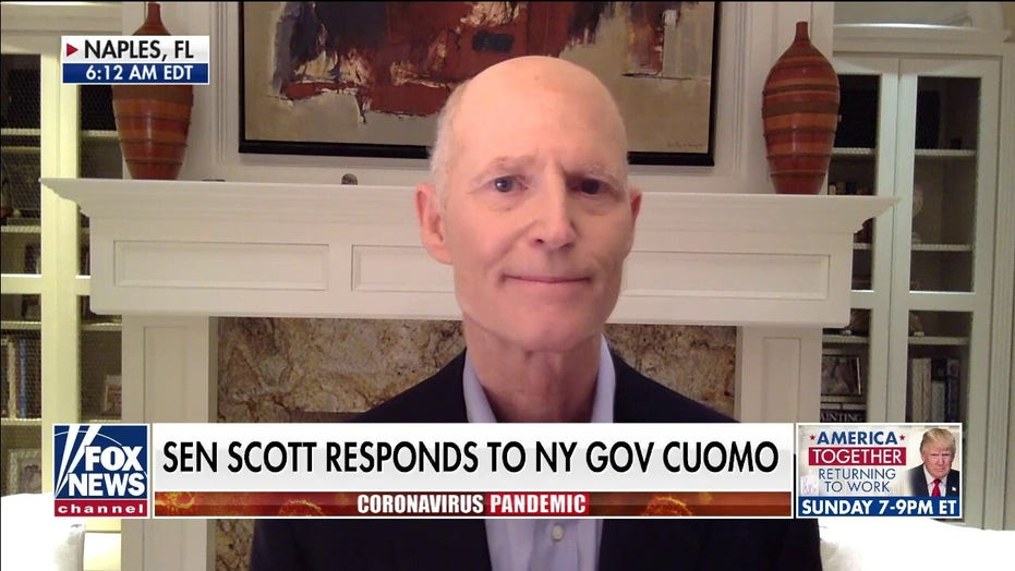 Rick Scott hits back at Gov. Cuomo's comments on bailouts