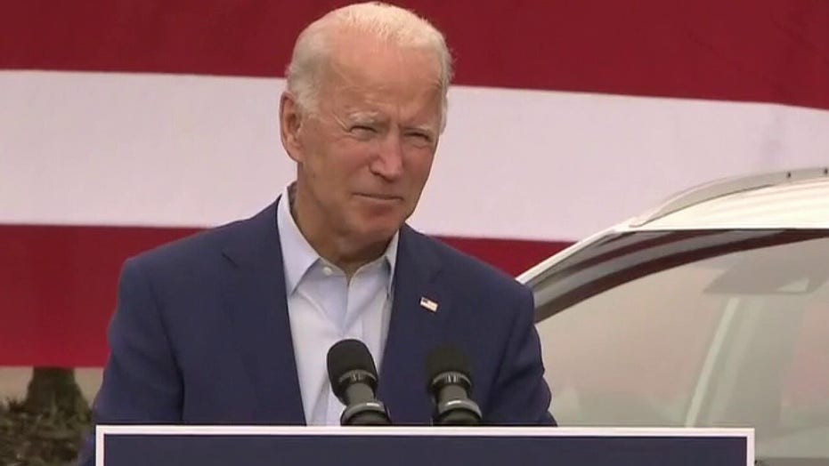 Joe Biden accuses President Trump of a dereliction of duty for playing down COVID
