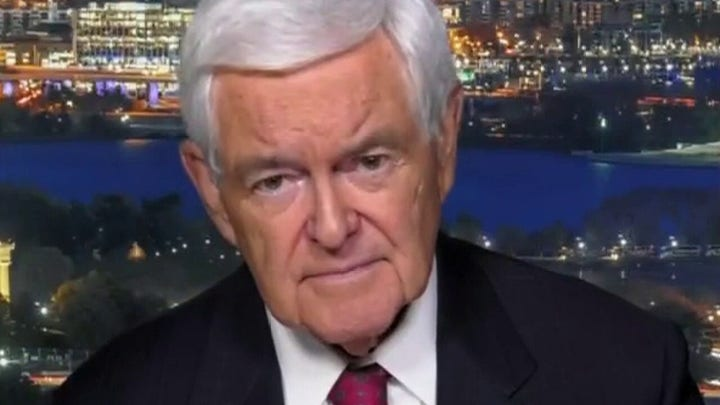 Newt Gingrich: Biden's living in a left-wing world absent from reality