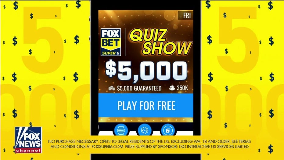FOX Bet Super 6 'Quiz Show': $5,000 up for grabs answering questions on books, college football