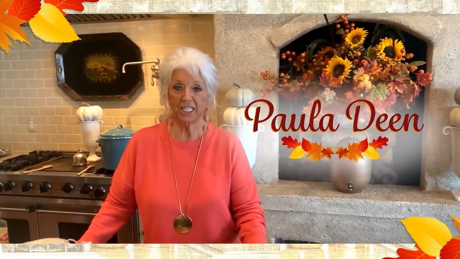 Paula Dean reveals secrets to perfect Thanksgiving menu: Deep fried turkey, sweet potato pie and more