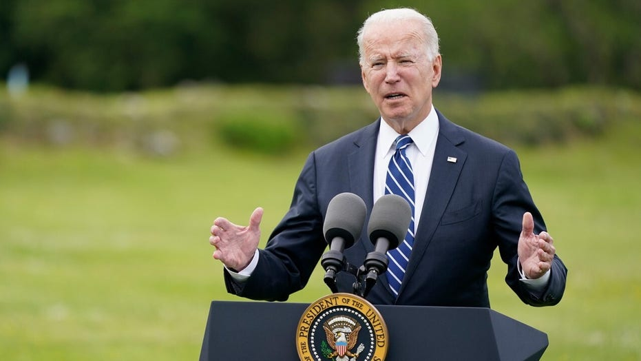 Biden raises concerns with comment that he will 'get in trouble' for answering question