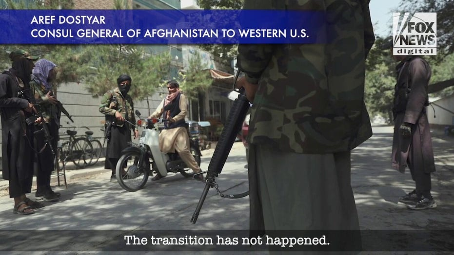 Afghanistan consul general says government transition has not happened