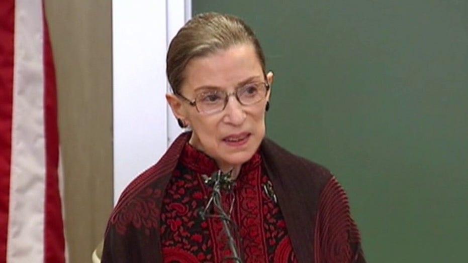Ruth Bader Ginsburg dies at 87