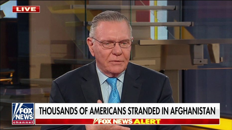 Gen. Keane on 'Faulkner Focus': Biden showing 'callous indifference' to those stranded in Afghanistan