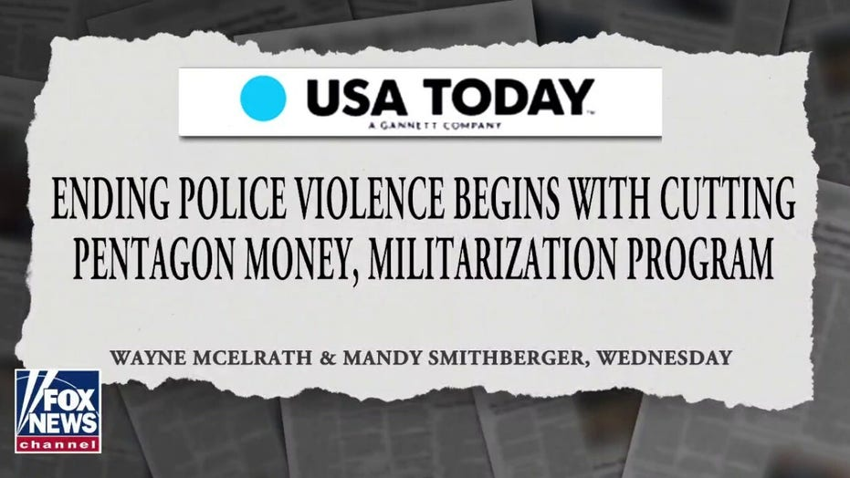 Op-ed says police reform begins with defunding the Pentagon