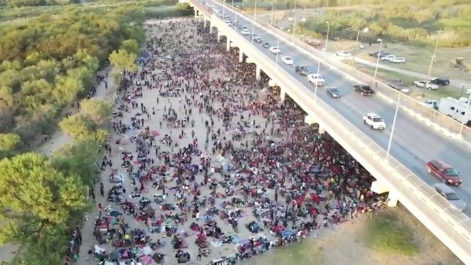 Greg Abbott says Biden administration 'flip-flopped' on closing overwhelmed Texas-Mexico border crossings